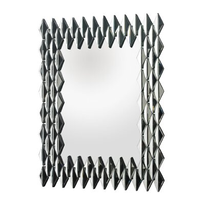 Geometric Wall Mirror mercer41™ geometric wall mirror | wayfair
