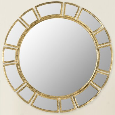 Sunburst Wall Mirror willa arlo interiors birksgate round antique gold patina sunburst