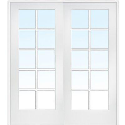 sc 1 st  Wayfair & Verona Home Design MDF Primed Interior French Door u0026 Reviews | Wayfair pezcame.com