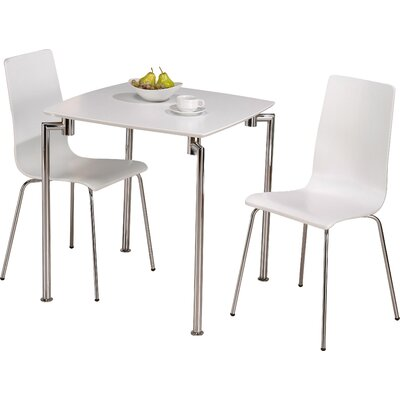 Riley Ave. Nathan Dining Set with 2 Chairs & Reviews | Wayfair.co.uk