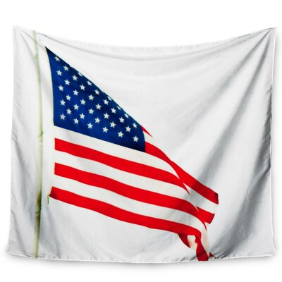 Hanging Flag On Wall east urban home 'american flag'sylvia coomes tapestry and wall