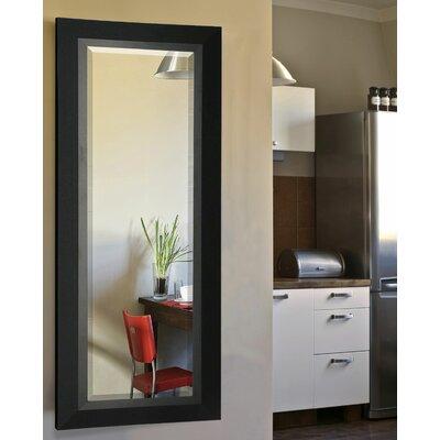 Full Body Wall Mirror latitude run rectangle wood framed full body beveled wall mirror