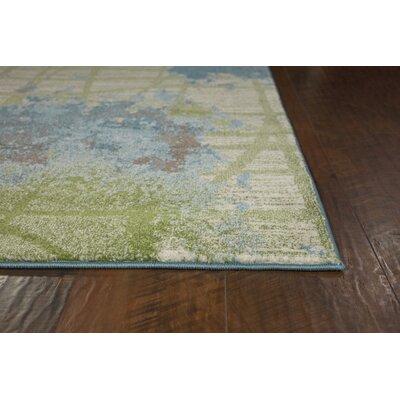Latitude Run Dunmore Blue/Green Area Rug U0026 Reviews | Wayfair