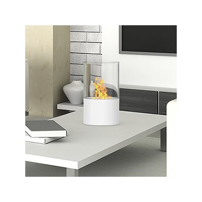 elite flame collin ventless bioethanol tabletop fireplace u0026 reviews wayfair