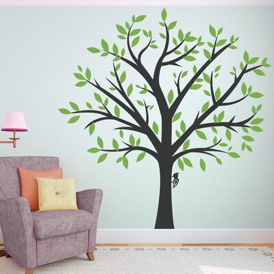 Family Tree Wall Decor wallums wall decor large family tree wall decal & reviews | wayfair