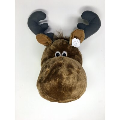Moose Wall Decor king max products whimsy moose plush wall décor | wayfair