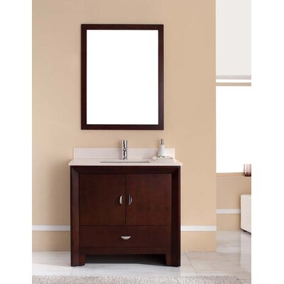"Bathroom Cabinets Melbourne harper beach melbourne 37"" single bathroom vanity set | wayfair"