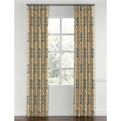 Loom Decor Ikat Medallion Blackout Single Curtain Panel