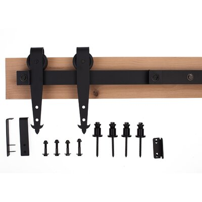 Rusticahardware Ironwood Loft Barn Door Hardware System K4r264l6 L6490 ...