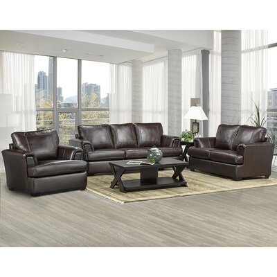 Royal Living Room Furniture. Coja Royal Cranberry Leather 3 Piece Living Room Set  Reviews Wayfair