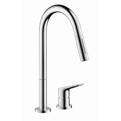 axor axor citterio m single handle deck mounted kitchen faucet