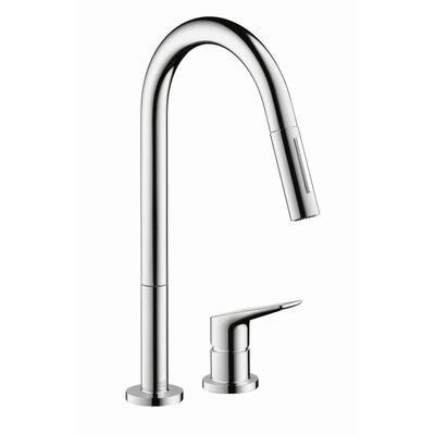 Axor Axor Citterio Pull Down Single Handle Kitchen Faucet U0026 Reviews    Wayfair