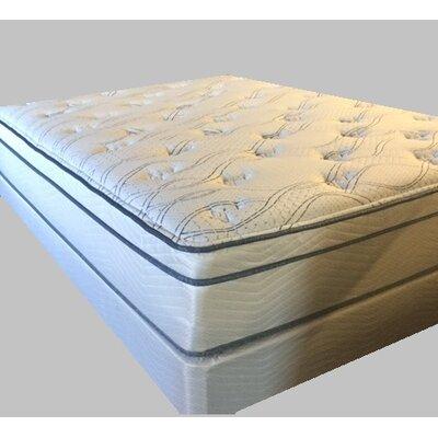 therapedic backsense hourglass oasis gel euro plush innerspring mattress u0026 reviews wayfair