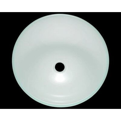 Great Polaris Sinks Glass Circular Vessel Bathroom Sink | Wayfair