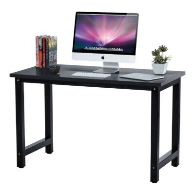 Winston Porter Greenhalge Stylish Home Office Computer Desk & Reviews |  Wayfair
