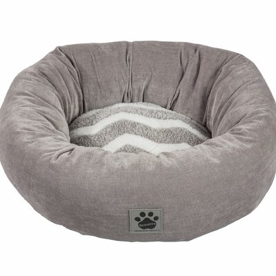 precision pet snoozzy hip as a zig zag shearling round bed u0026 reviews wayfair - Precision Pet Products