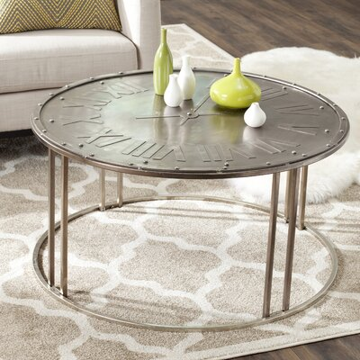 Safavieh Fox Roman Clock Coffee Table Reviews Wayfair