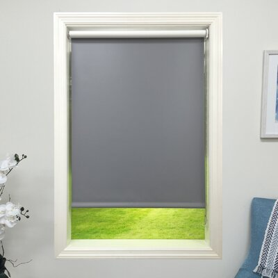 harbor shades dark gray blackout roller shade white lowes blinds for velux windows