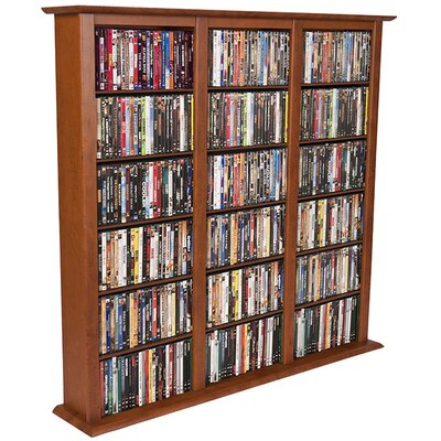 Rebrilliant Regular Triple Multimedia Storage Rack U0026 Reviews | Wayfair