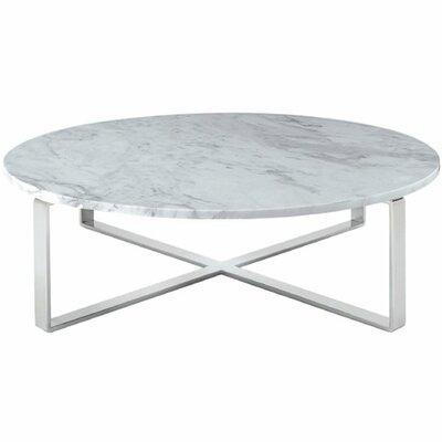 Orren Ellis Orian Marble Coffee Table Reviews Wayfair