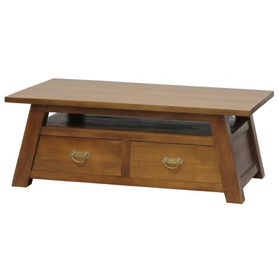 Nes Furniture Japanese Fine Handcrafted Solid Mahogany Wood Coffee Table Wayfair