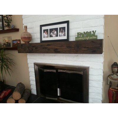 Midwood Designs Rustic Fireplace Mantel Shelf Reviews Wayfair