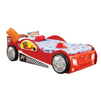 Plastiko Monza Toddler Car Bed Wayfair