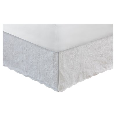 Josephine Quilted Bed Skirt & Reviews | Birch Lane : white quilted bed skirt - Adamdwight.com