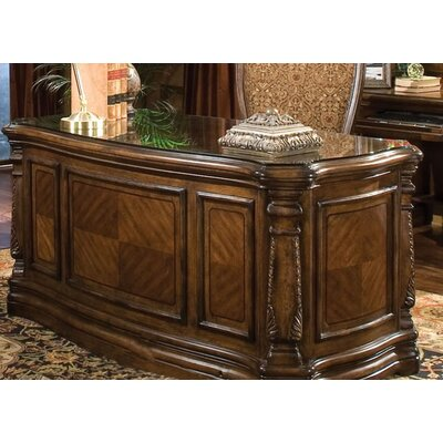 Aico Office Systems Windsor Court Executive Desk Reviews Wayfair