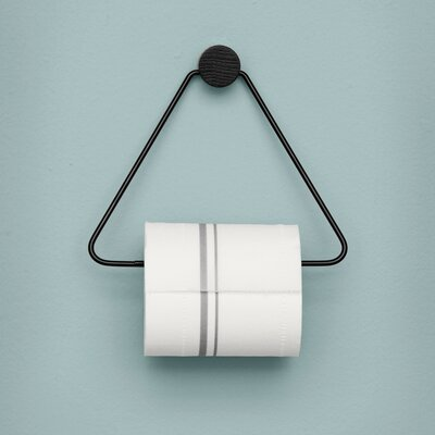 Paper Holder For Wall ferm living wall mounted toilet paper holder & reviews | wayfair