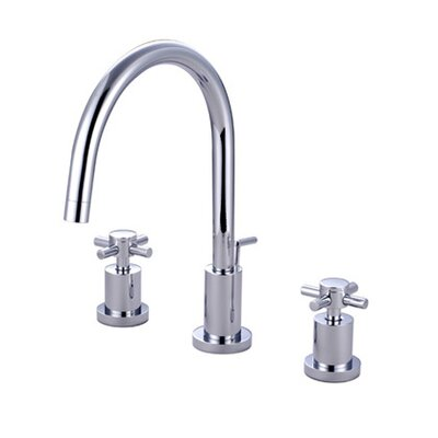 Bathroom Faucet Spout Reach elements of design south beach double cross handle mini-widespread