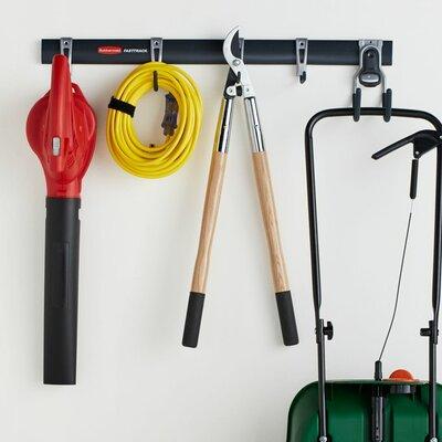 Rubbermaid FastTrack Garage Storage System Set U0026 Reviews   Wayfair