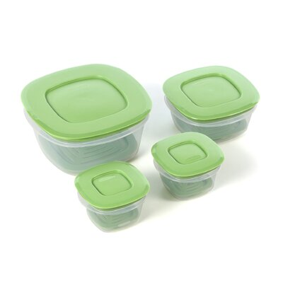 Rubbermaid Produce Saver 4 Container Food Storage Set & Reviews ...