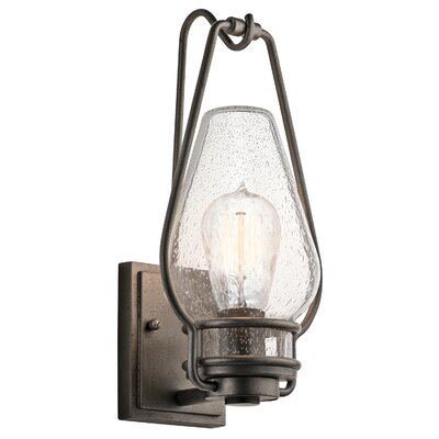 Kichler Hanford 1 Light Outdoor Sconce   Reviews   Wayfair. Kichler Lighting Outdoor Sconce. Home Design Ideas