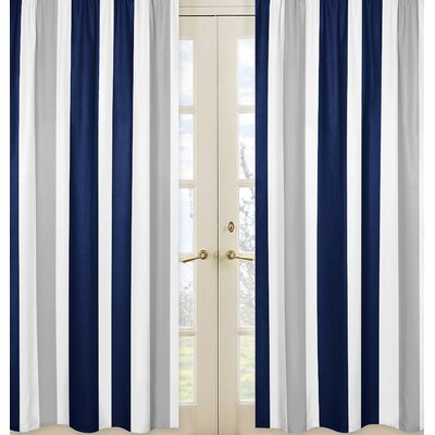 Brady Stripe Curtain Panel Reviews Joss Main