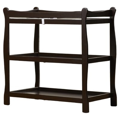 High Quality Badger Basket Sleigh Style Baby Changing Table U0026 Reviews | Wayfair