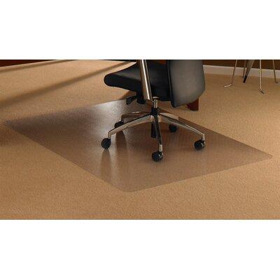 floortex cleartex high pile carpet straight chair mat & reviews