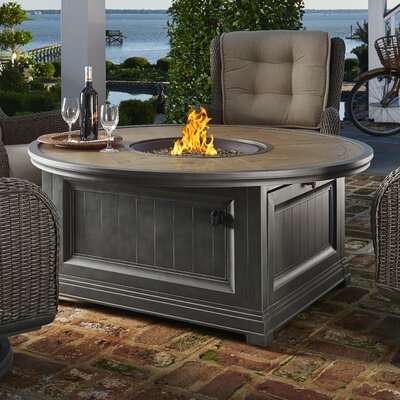 Paula Deen Home Dogwood CF 20 Burner Stainless Steel Liquid Propane/Natural  Gas Fire Pit Table | Wayfair