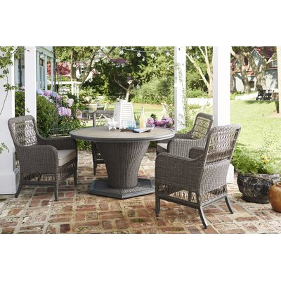 paula deen home dogwood 5 piece dining set & reviews | wayfair