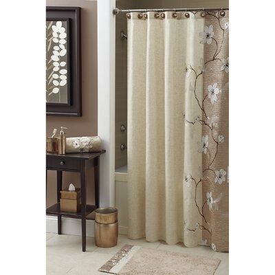 croscill magnolia shower curtain & reviews | wayfair