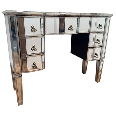 alterton vintage mirrored range dressing table u0026 reviews wayfaircouk