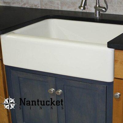 "Farmhouse Kitchen Sinks nantucket sinks cape 29.75"" x 18"" fireclay farmhouse kitchen sink"