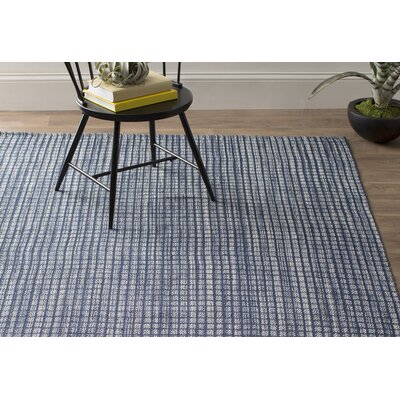 Dash and Albert Rugs Coco Hand-Woven Blue Indoor/Outdoor Area Rug ...