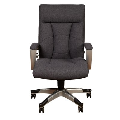 Sealy High Back Desk Chair   Reviews   Wayfair. Grey Fabric Office Chair. Home Design Ideas