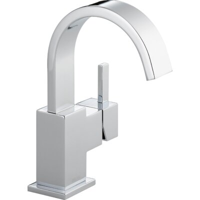 Bathroom Faucet One Hole delta vero single hole bathroom faucet with metal pop up drain