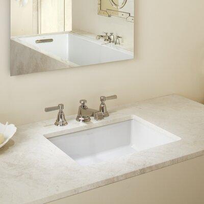 Kohler Verticyl Ceramic Rectangular Undermount Bathroom Sink With Overflow  U0026 Reviews | Wayfair