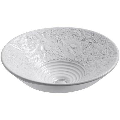 Bathroom Sinks By Kohler kohler water's grove circular vessel bathroom sink & reviews | wayfair