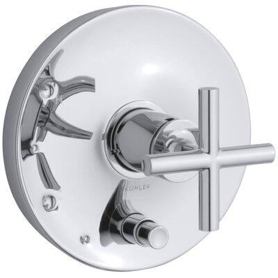 kohler purist ritetemp valve trim with cross handles u0026 reviews wayfair - Kohler Purist