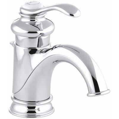 Bathroom Faucet One Hole kohler fairfax single hole bathroom sink faucet with single lever
