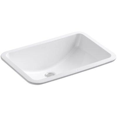 Bathroom Sinks By Kohler kohler ladena rectangular undermount bathroom sink with overflow